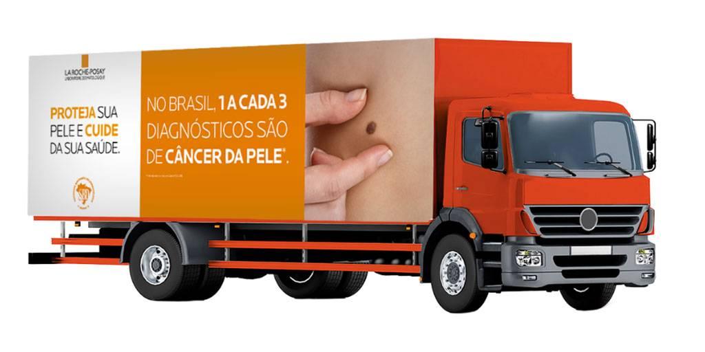 Caminhão Tour de Combate ao Câncer de Pele | La Roche-Posay