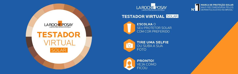 Banner Testador Virtual Solar | La Roche-Posay