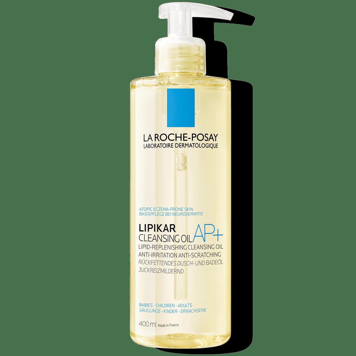 Imagem do pack do Lipikar Cleansing Oil AP+ 400ml | Lipikar | La Roche-Posay