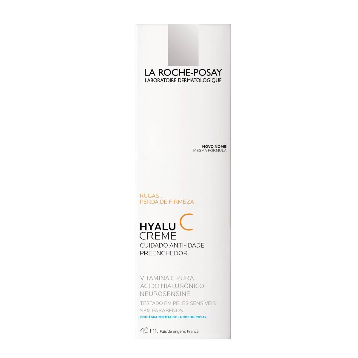 Caixa Hyalu C Creme 40ml   La Roche-Posay