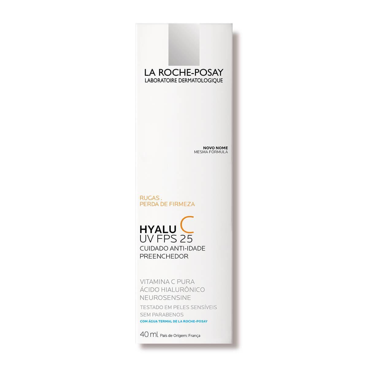 Imagem da caixa do Hyalu C UV FPS 25 versão 40ml   La Roche-Posay
